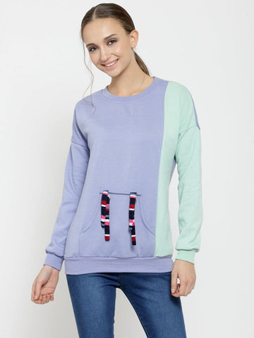 Belle Fille Blue Star Sweatshirts