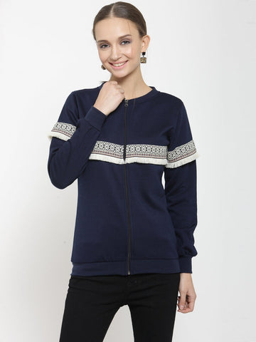 Belle Fille Deep Blue Sweatshirts