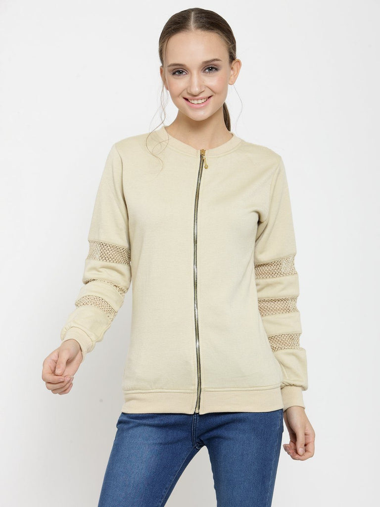Belle Fille Beautiful And Beige Sweatshirts