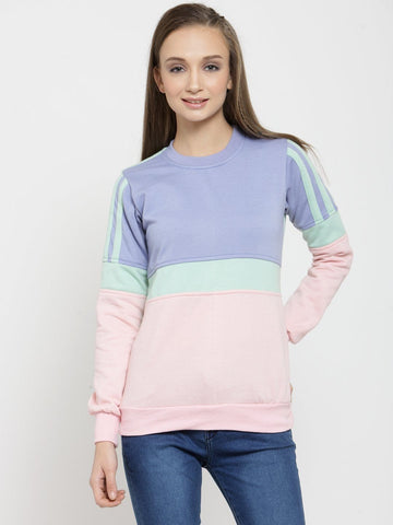 Belle Fille Bieng Blue Sweatshirts