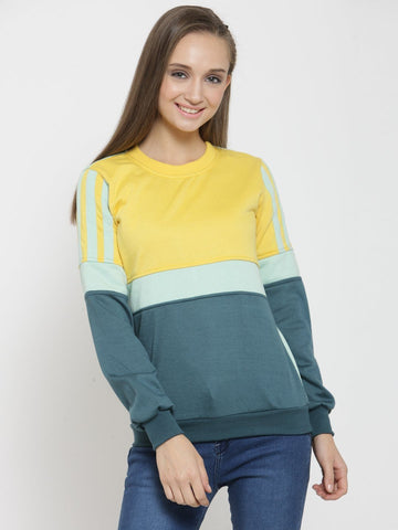 Belle Fille Yellow Mellow Sweatshirts