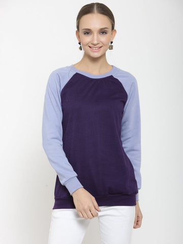 Belle Fille Chic Purple Sweatshirts