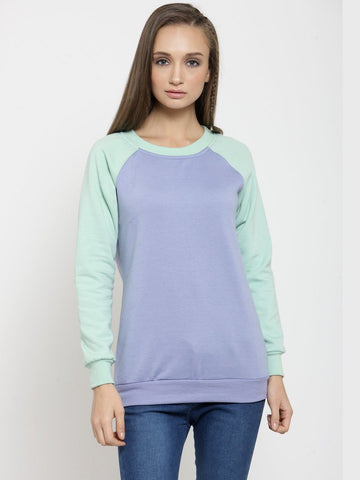 Belle Fille Mood Blues Sweatshirts