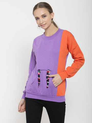 Belle Fille Violet Muse Sweatshirts