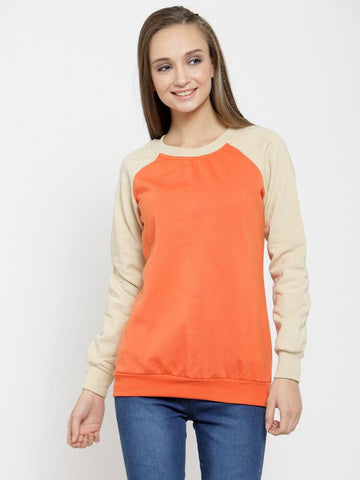 Belle Fille Saucy Orange Sweatshirts