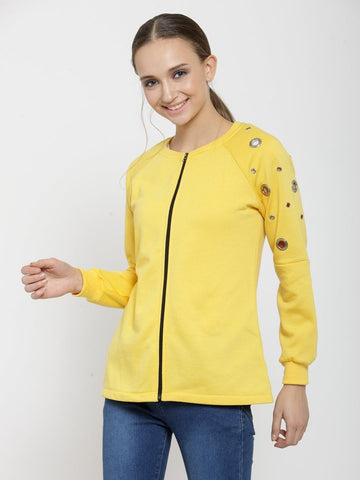 Belle Fille Simply Yellow Sweatshirts