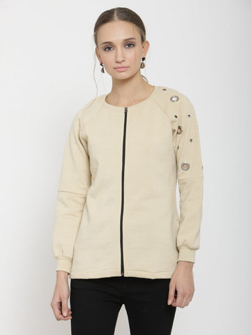 Belle Fille Busy Beige Sweatshirts