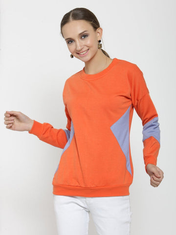 Belle Fille Orange Sweatshirts
