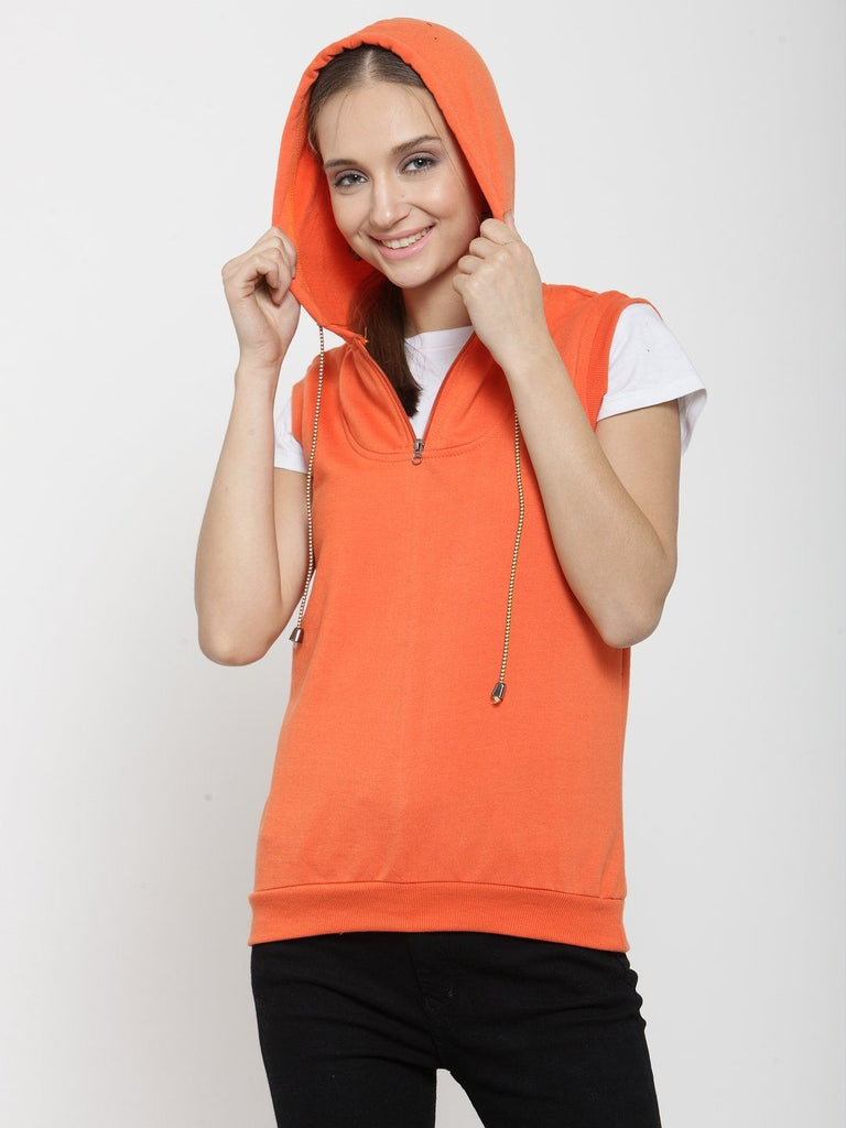 Belle Fille Orange Sky Sweatshirts