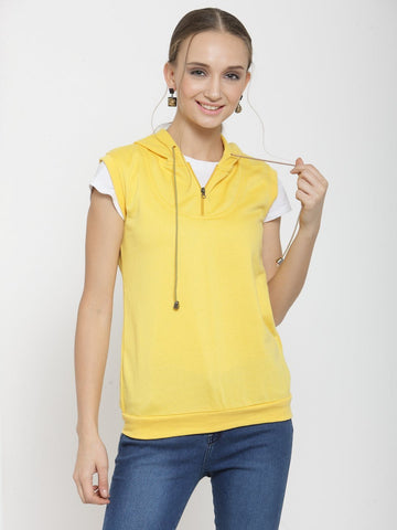 Belle Fille Comfy and Cute Yellow Sweatshirts