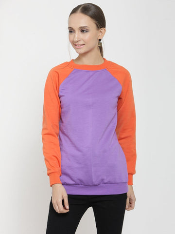 Belle Fille Simply Violet Sweatshirts