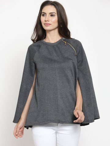 Belle Fille Saucy Grey Sweatshirts