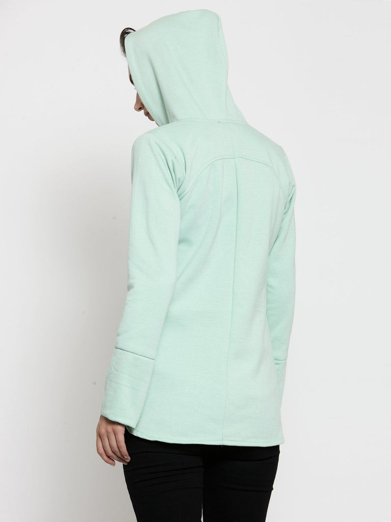 Belle Fille Stylish Sea Green Sweatshirts