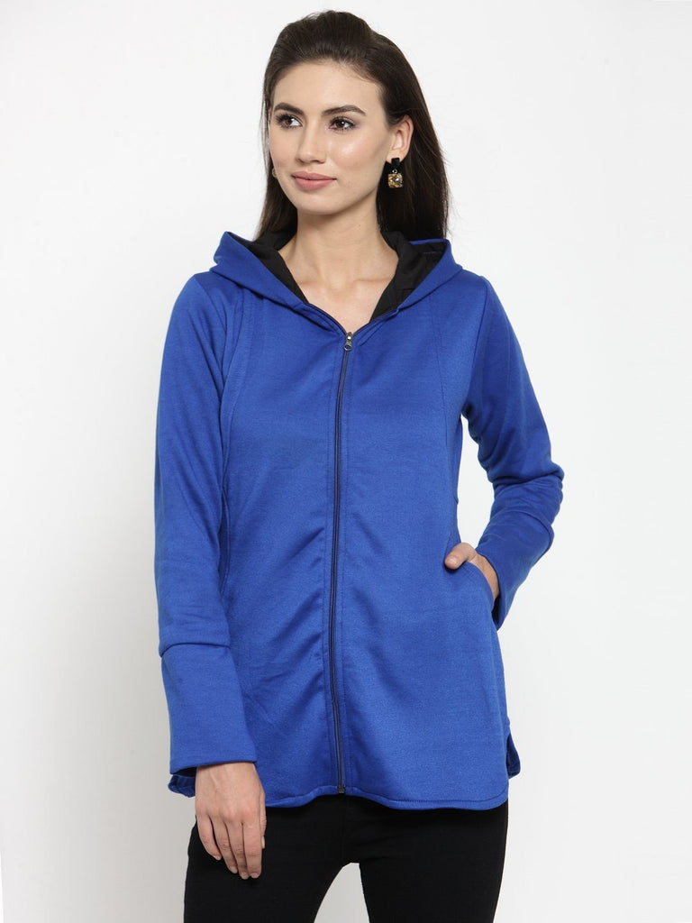 Belle Fille Blue Breezy Sweatshirts