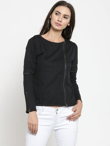 Belle Fille Blazing Black Sweatshirts