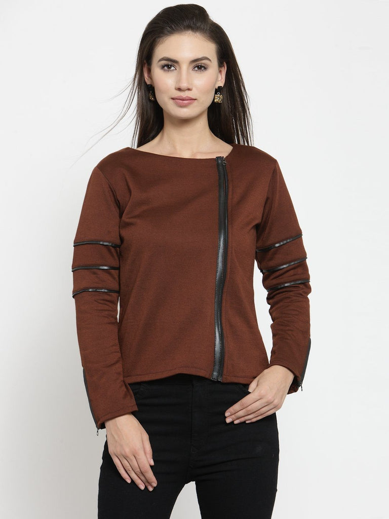 Belle Fille  Beaming Brown Sweatshirts