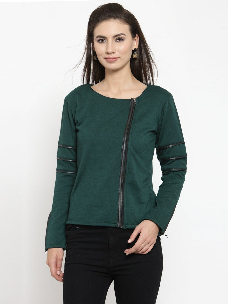 Belle Fille Green Sassy Sweatshirts