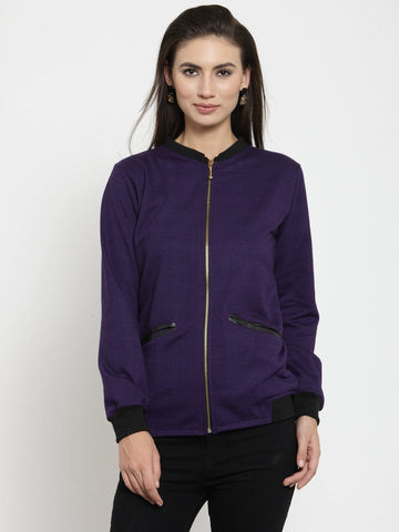 Belle Fille Sassy Purple Sweatshirts