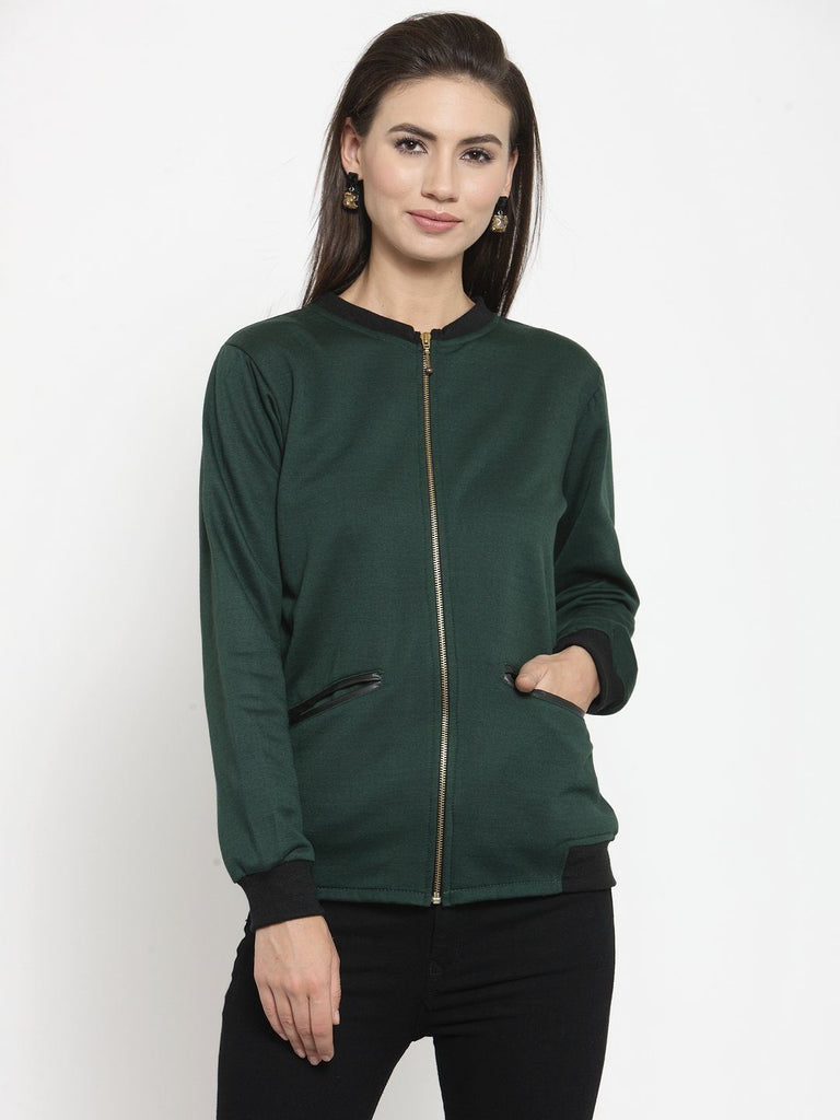 Belle Fille Green Story Sweatshirts