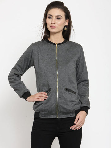 Belle Fille Casual N Cool Grey Sweatshirts