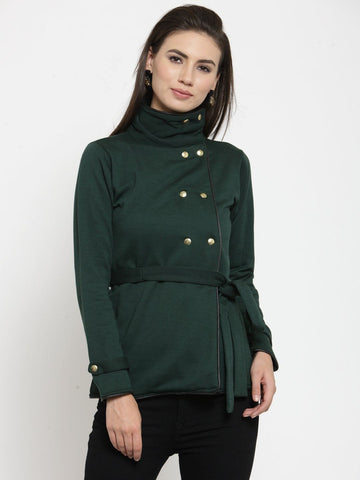 Belle Fille Green Chic Sweatshirts