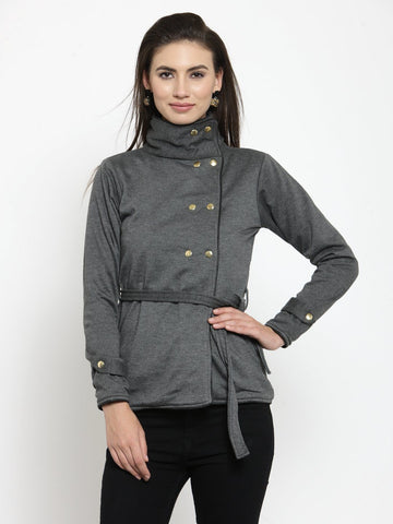 Belle Fille Basic Grey Sweatshirts