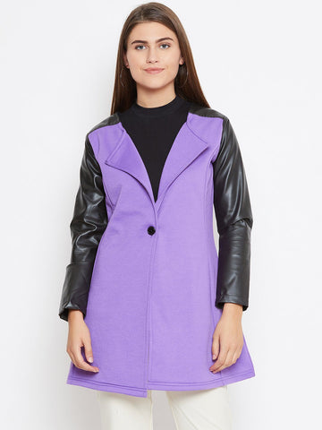 Belle Fille Full-length Violet Coat