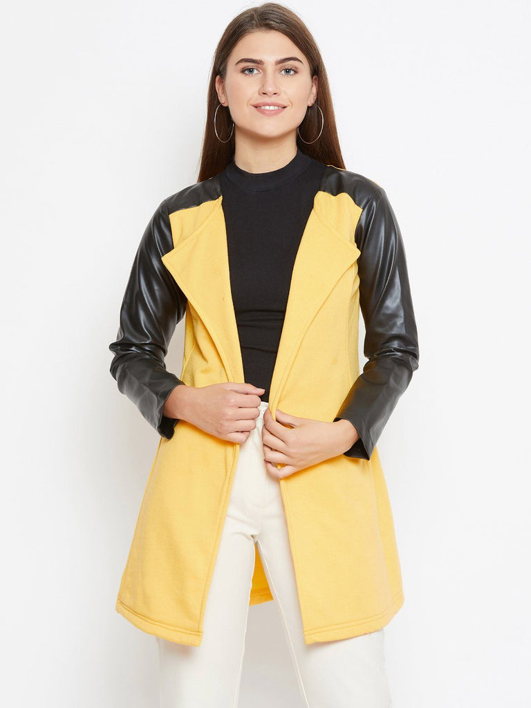 Belle Fille Full-length Yellow Coat