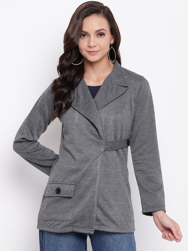 Belle Fille Full-length Dark Grey Coat