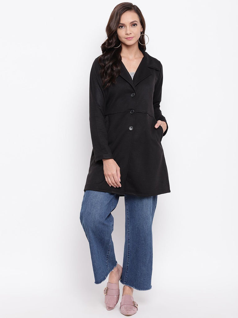 Belle Fille Full-length Black Coat