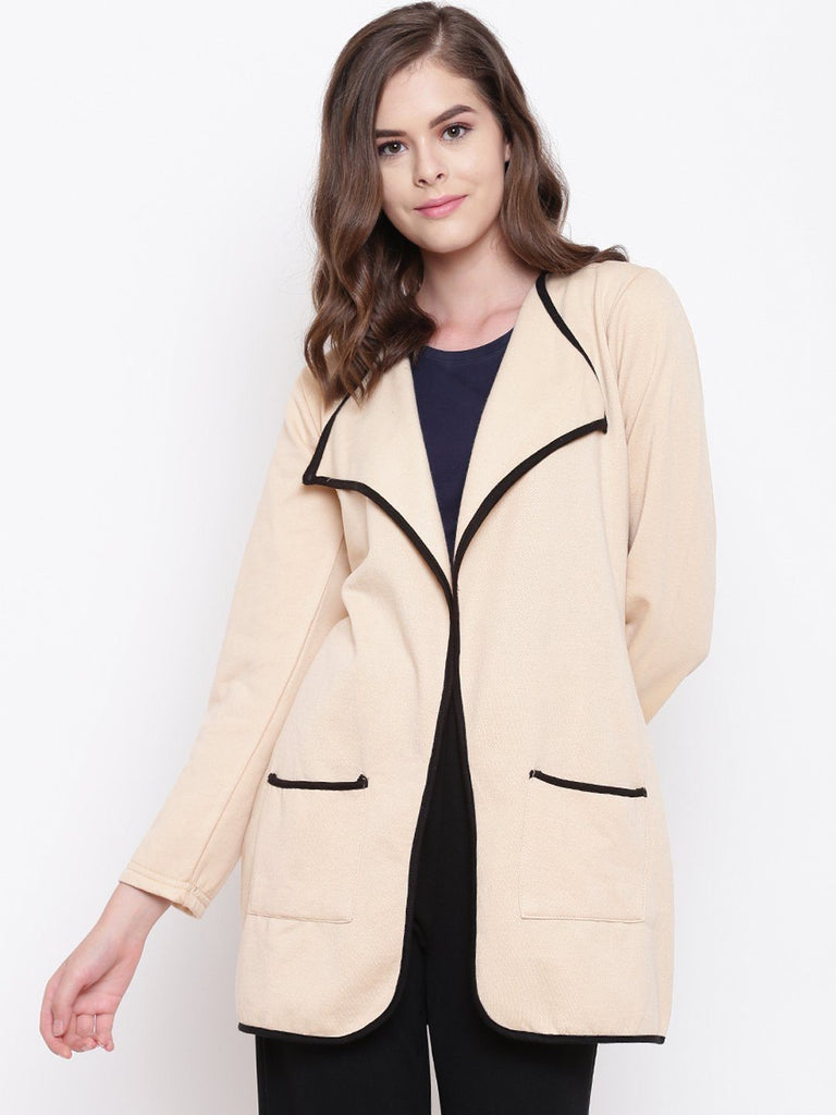 Belle Fille Full-length Beige Shrug