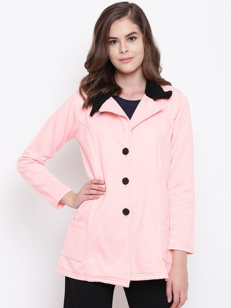 Belle Fille Full-length Pink Coat