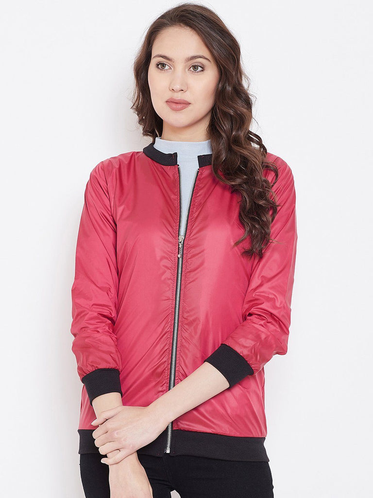 Belle Fille Full-length Fusia Jacket
