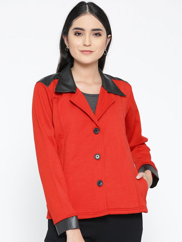 Belle Fille Full-length Red Coat