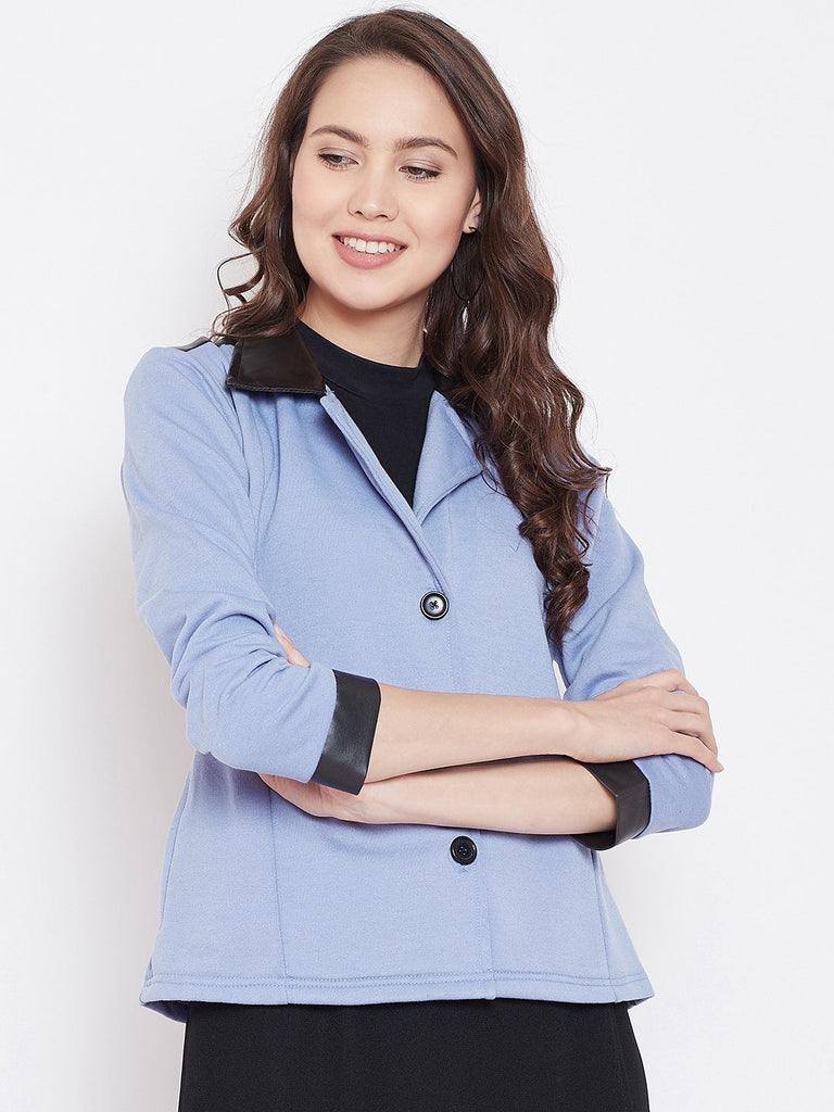 Belle Fille Full-length Powder Blue Coat
