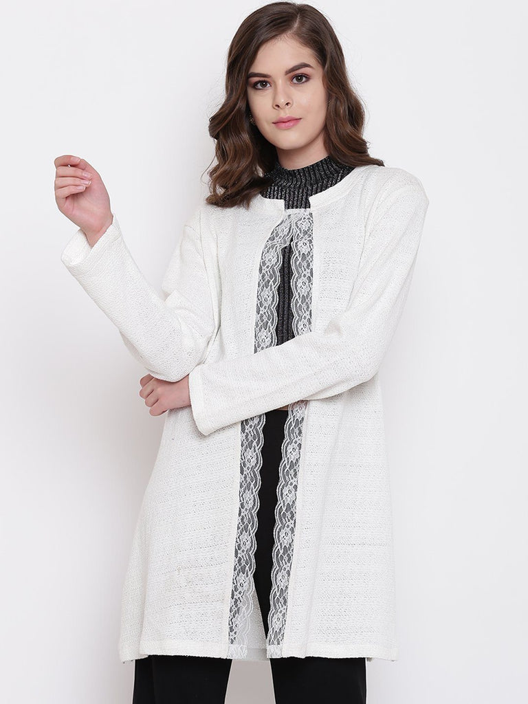 Belle Fille Full-length Off White Shrug