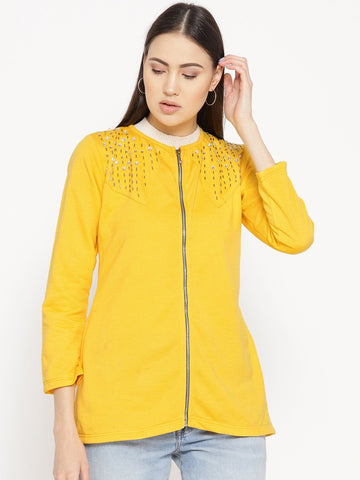 Belle Fille Full-length Yellow Jacket
