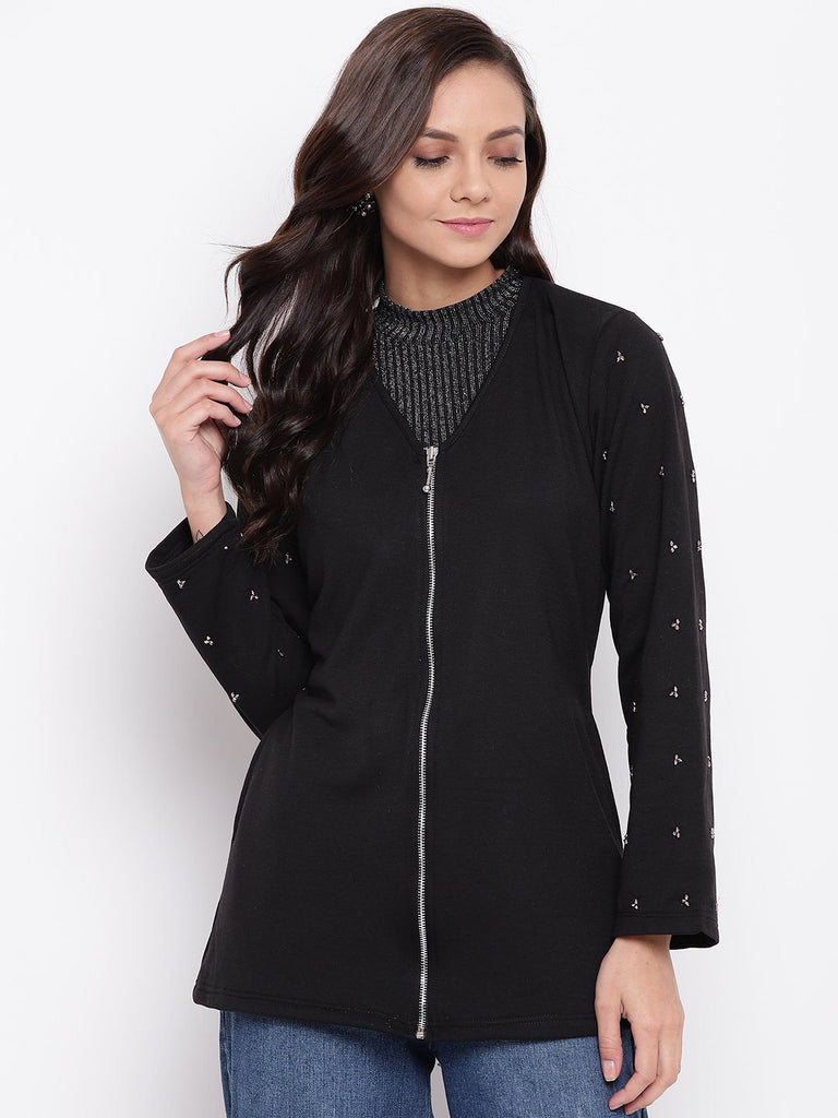Belle Fille Full-length Black Jacket