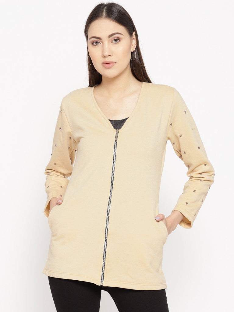 Belle Fille Full-length Beige Jacket