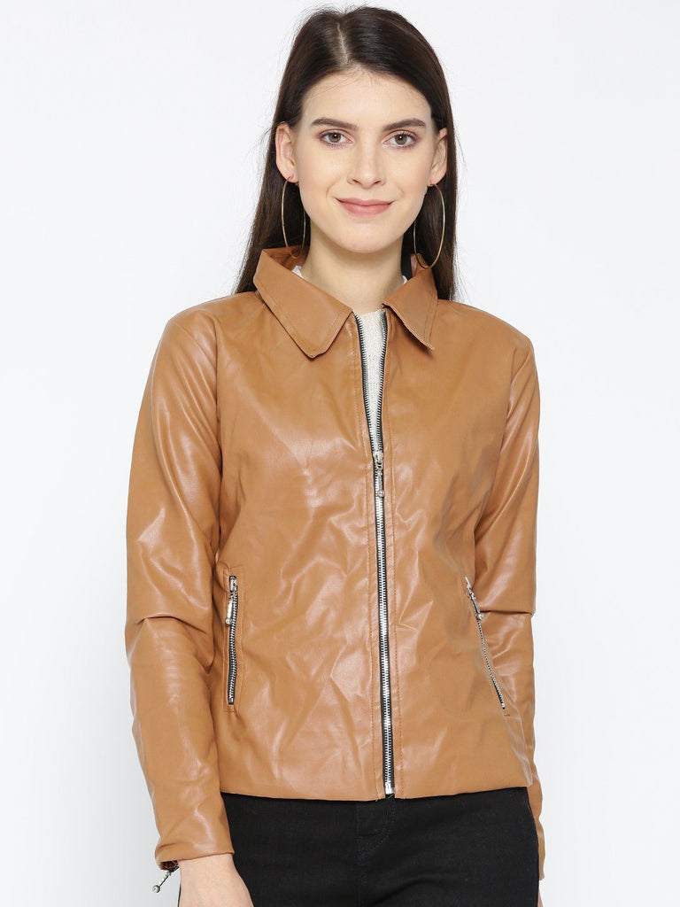 Belle Fille Full-length Tan Jacket