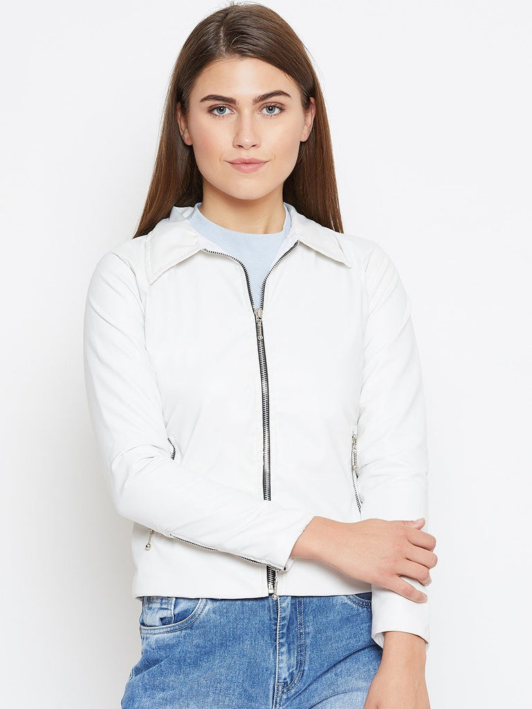 Belle Fille Full-length White Jacket