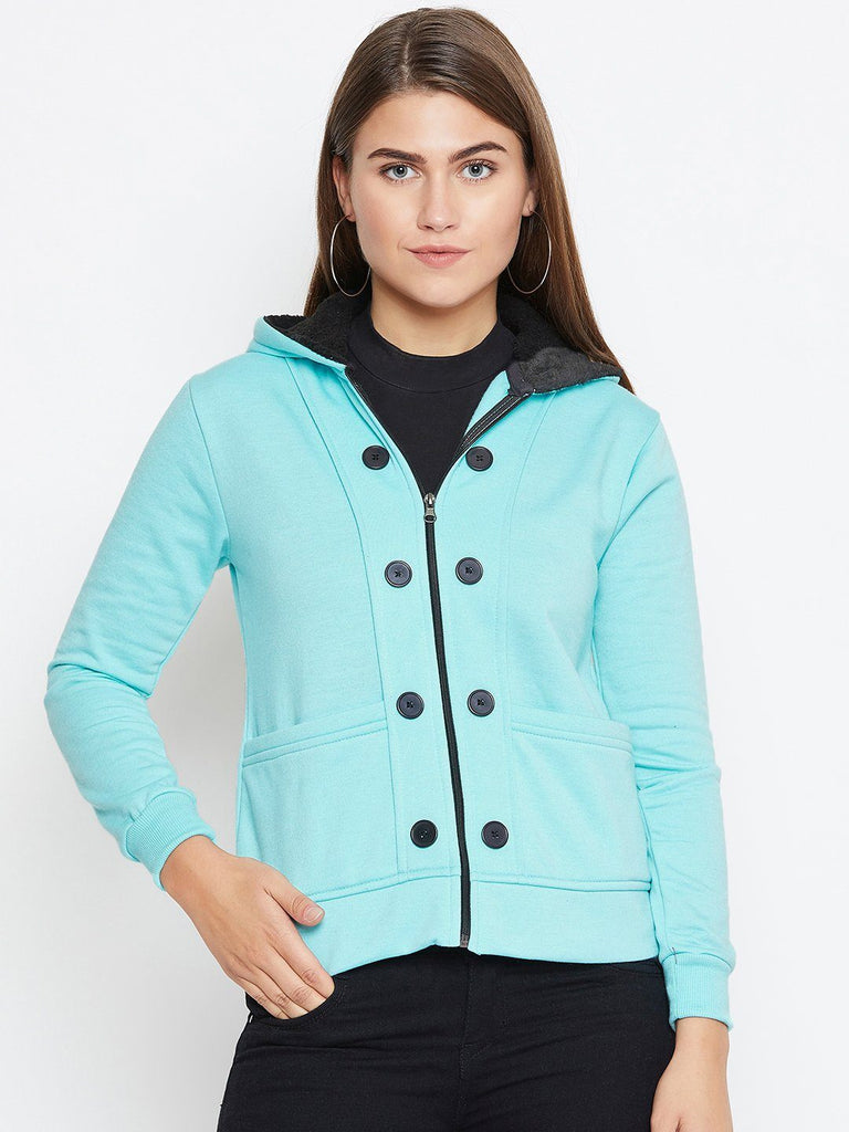 Belle Fille Full-length Tq Blue Jacket