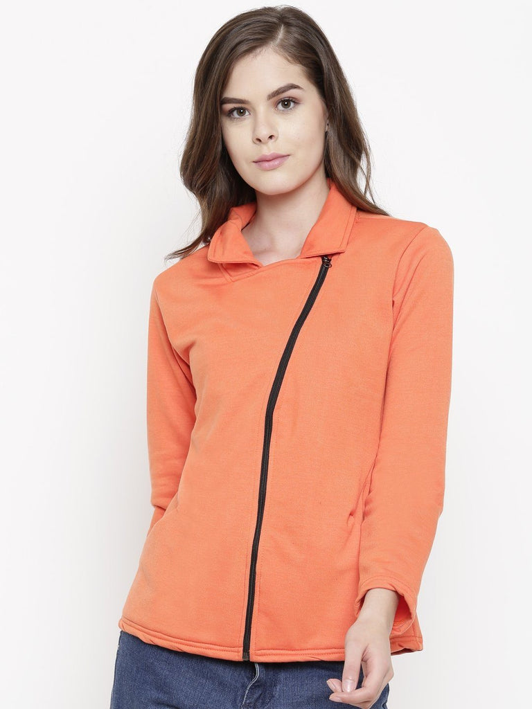 Belle Fille Full-length Orange Jacket