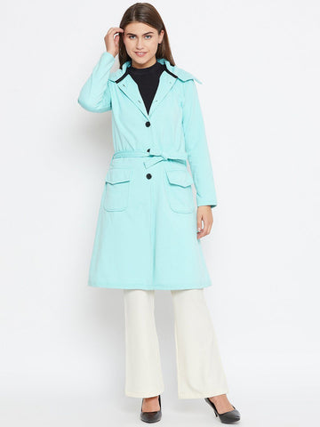Belle Fille Full-length Tq Blue Coat