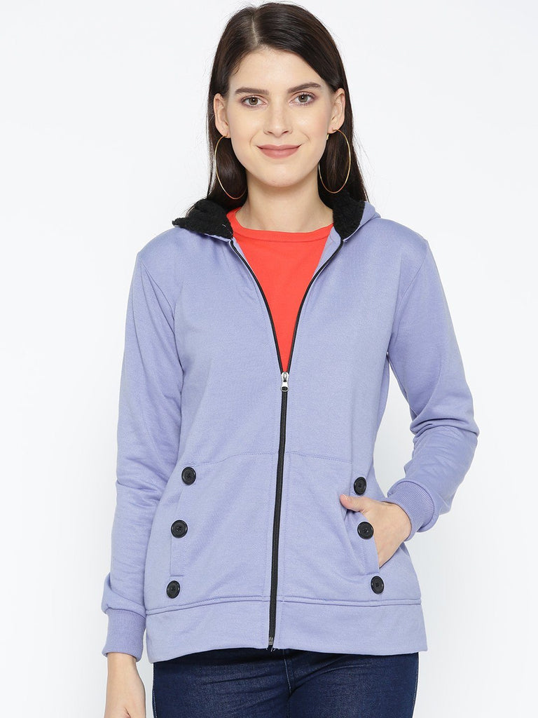 Belle Fille Full-length Powder Blue Jacket