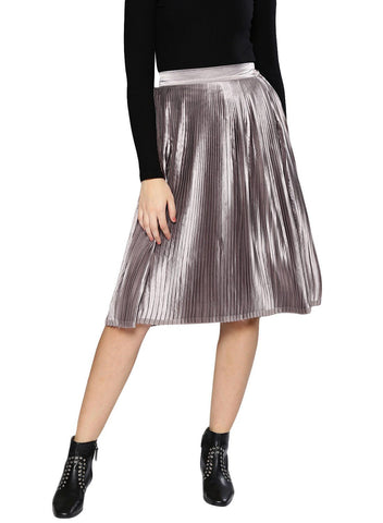 Besiva Women's Pleated Skirt