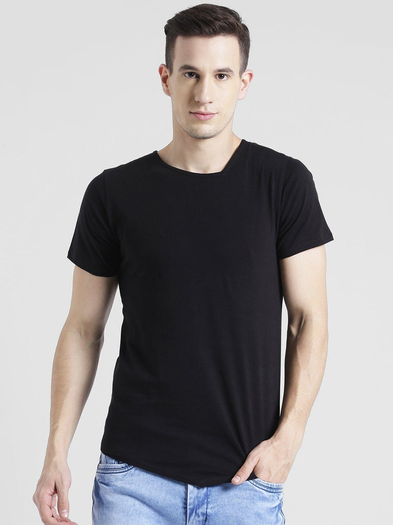 Black Half Sleeve T-Shirt