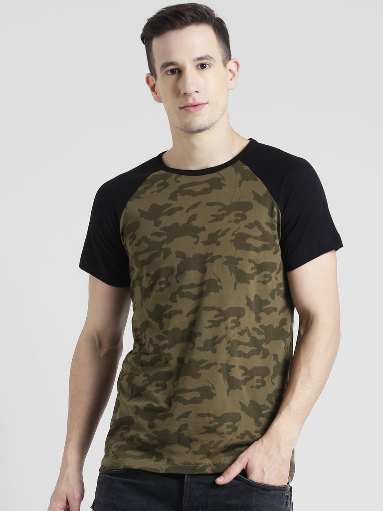 Army Green T-Shirt For Men