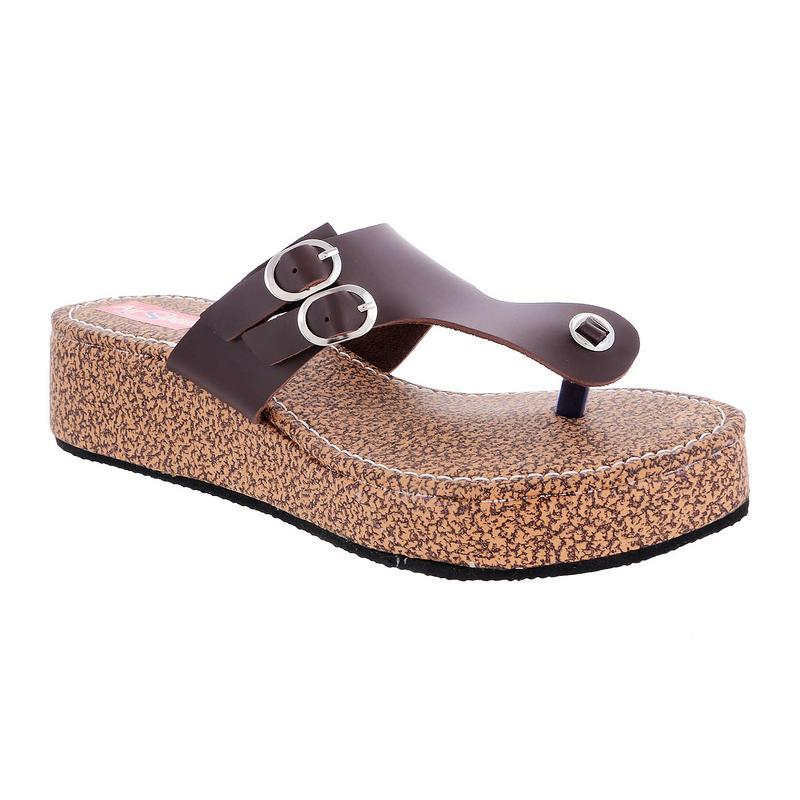 AirSoon Women Brown Flats
