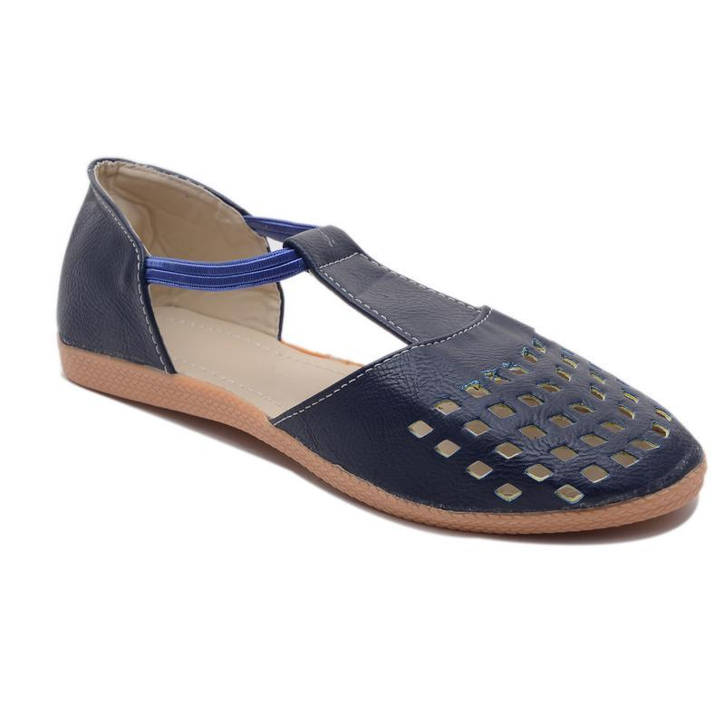 AirSoon Women Blue Color Closed Toe Sandal